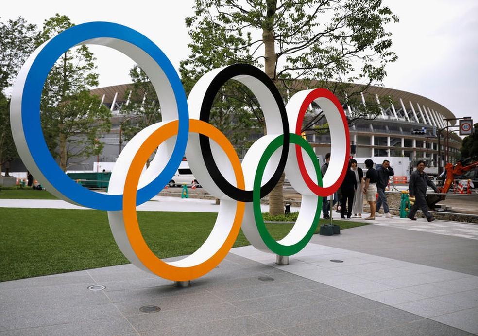 Estádio Olímpico de Tóquio 2020 — Foto: REUTERS/Issei Kato