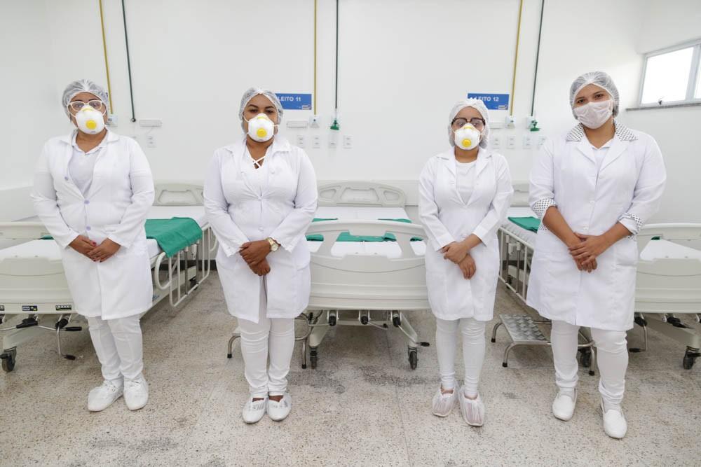 Inscrição no seletivo para contratação de profissionais do Hospital de Campanha de São Luís termina nesta quarta-feira