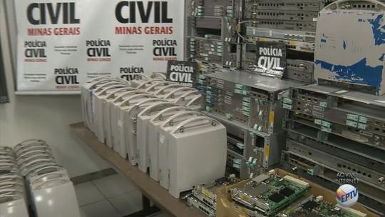 Dono de provedora de internet de Pouso Alegre é preso em esquema de receptação ilegal