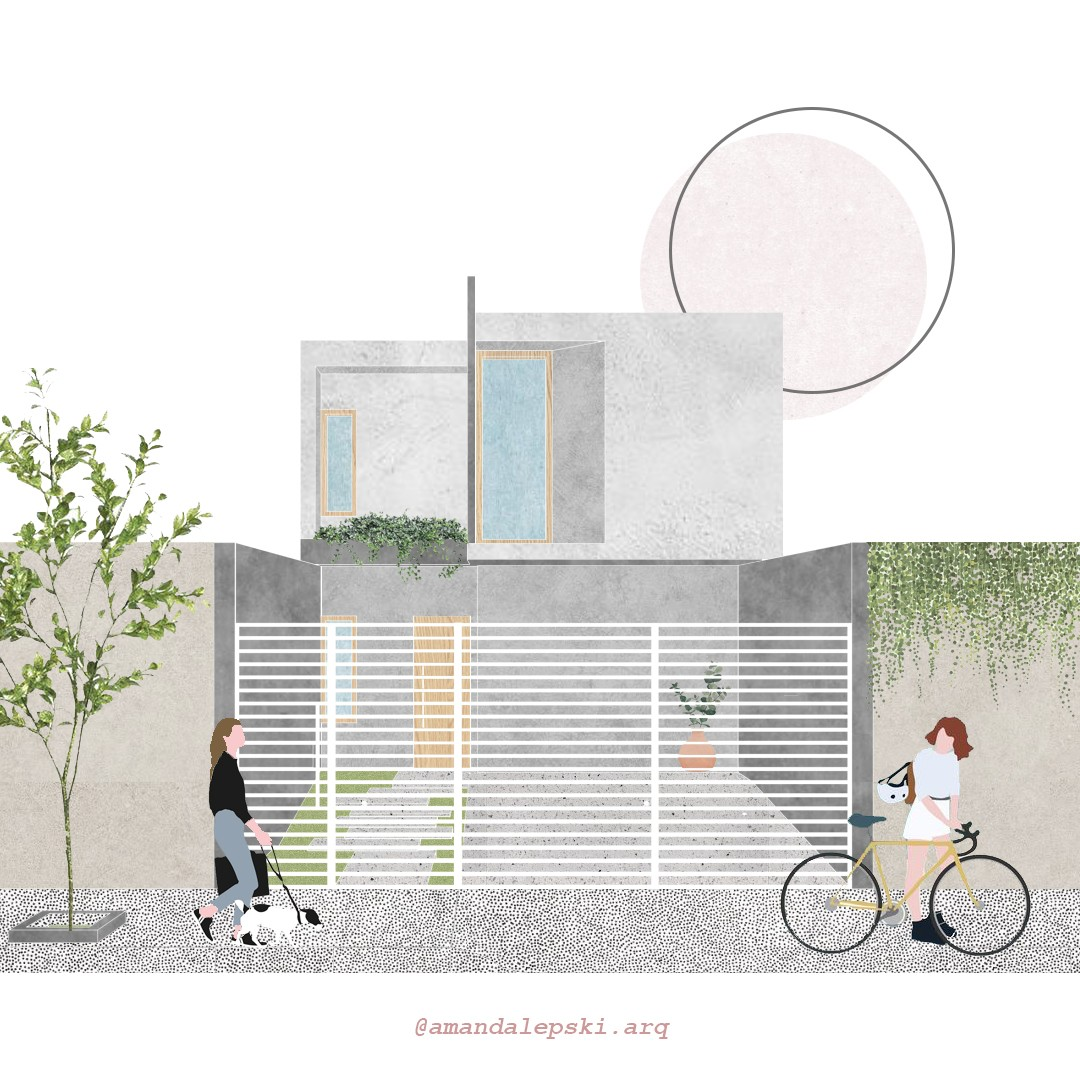 Arquiteta troca render realista por colagens artísticas e faz sucesso (Foto: Arquivo Pessoal)