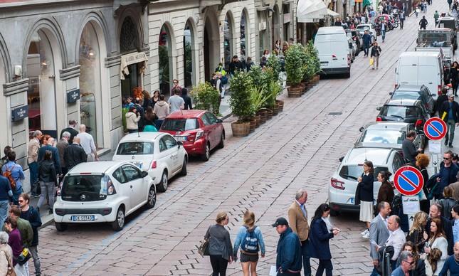 Pelas ruas de Milão é tempo de Fuorisalone