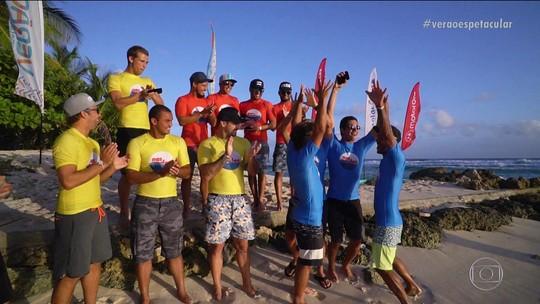 Liderados por Mineirinho, Piratas dão show e levam título do Nas Ondas de Barbados