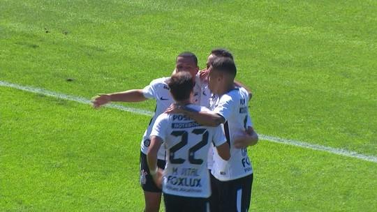 Vitória do Corinthians tem mais um gol de Rodriguinho e Sidcley velocista; assista