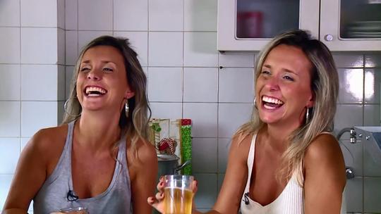 Luciana e Marcela falam sobre a conexão de gêmeas no 'The Wall': 'Sabia que ela iria assinar'