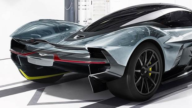 Modelo Valkyrie, da Aston Martin (Foto: Divulgação/Aston Martin)