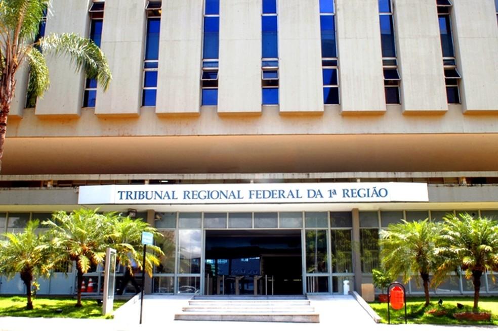 Sede do Tribunal Regional Federal da 1ª Região (TRF-1) — Foto: Saulo Cruz/Ascom TRF-1