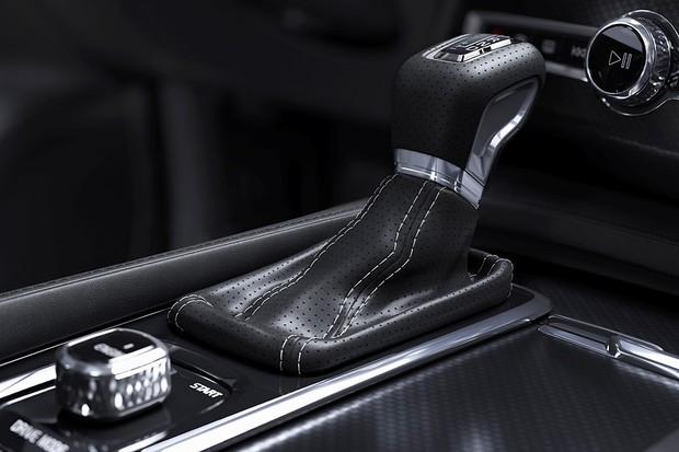 The all-new Volvo XC90 R-Design - interior detail (Foto: Divulgação)