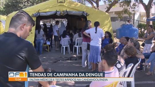Redação Móvel mostra atendimento nas tendas de campanha da dengue