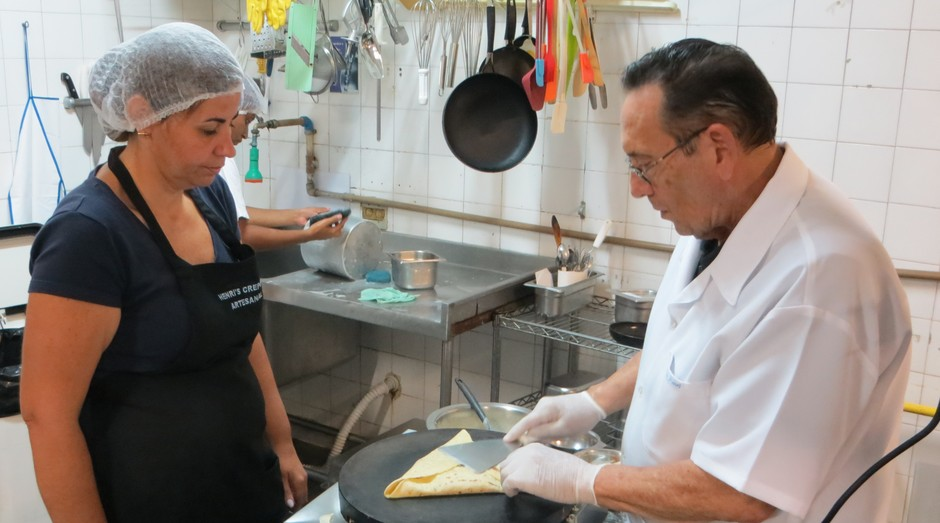 Chef Belga Henri Magné (Foto: Divulgação )