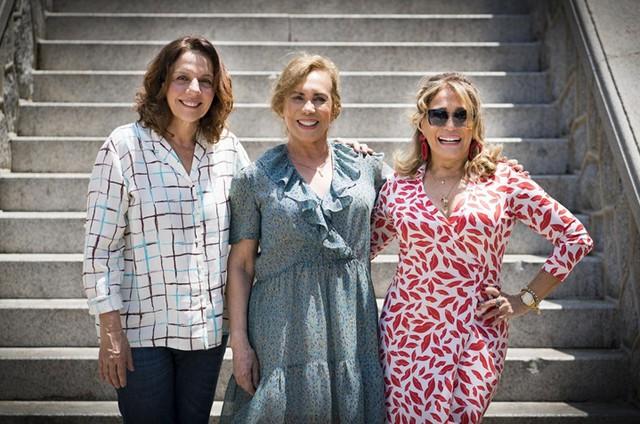 Rosi Campos, Arlete Salles e Susana Vieira (Foto: Catarina Sousa)