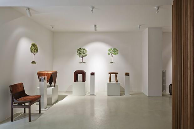 Etel homenageia madeira brasileira em Milão (Foto: Filippo Bamberghi/ divulgação)