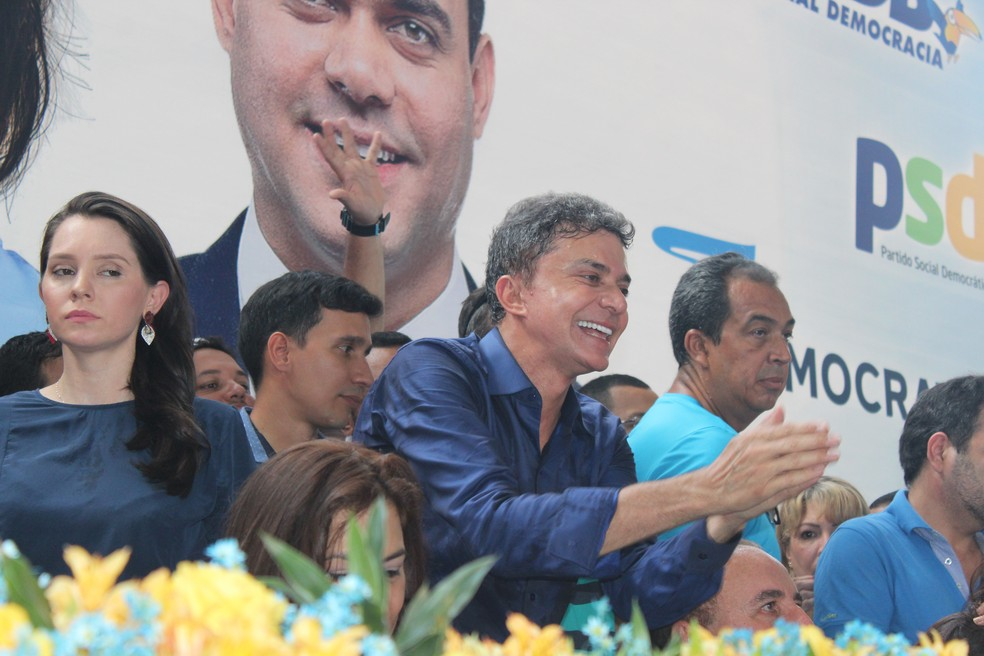 Expedito Júnior (PSDB) receberá apoio do DEM e PSD.  (Foto: Pedro Bentes/G1)