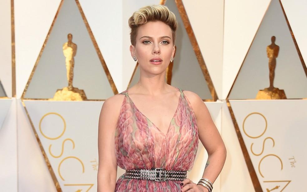 -  Scarlett Johansson no Oscar  Foto: Jordan Strauss/Invision/AP