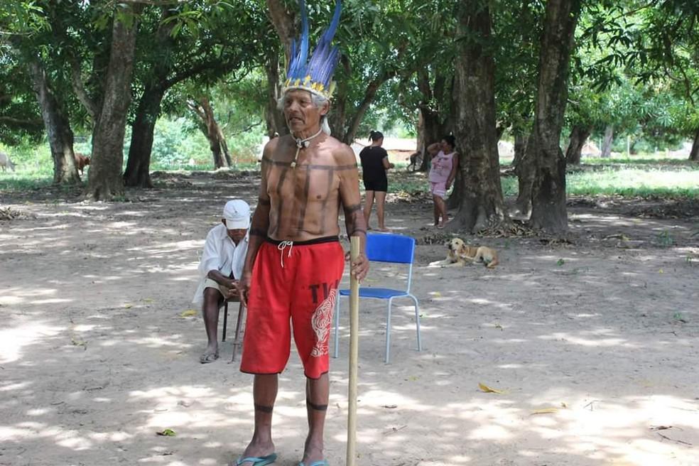 João Sõzê era ancião do povo Xerente — Foto: Arquivo Pessoal