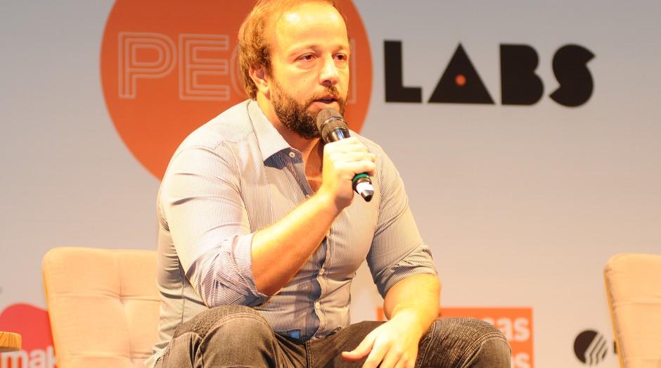 Bruno Amaro Fattori, CEO do Le Manjue, durante PEGNLabs (Foto: Rafael Jota)