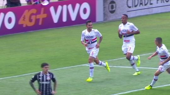 Análise: o que o São Paulo tirou de lição da boa atuação no empate com o Corinthians