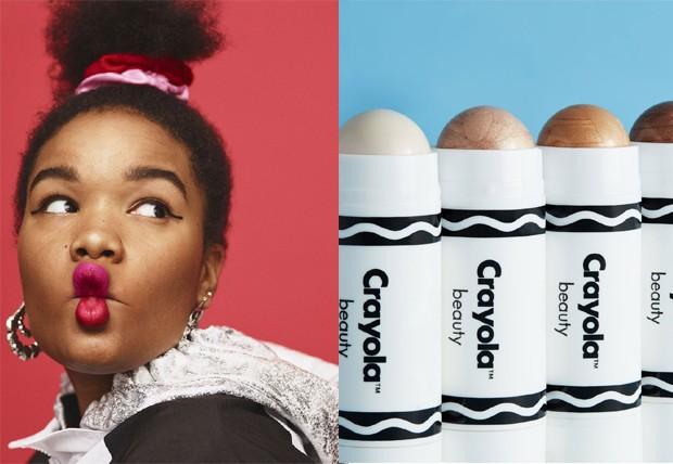 Crayola lança linha de maquiagens (Foto: Divulgação)