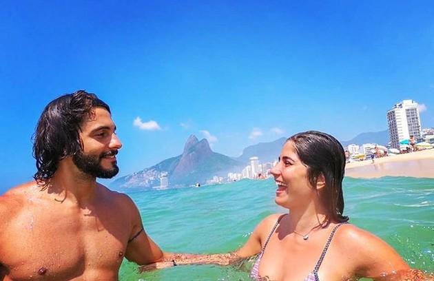 Stefano Livani e Vitória Duarte estão juntos há pouco mais de dois anos (Foto: Reprodução)