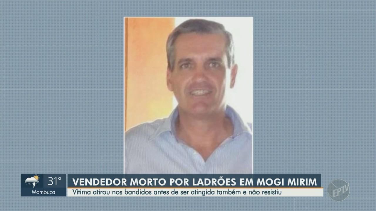 Comerciante morre após ser baleado durante assalto em Mogi Mirim