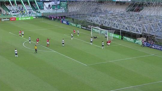 Veja os gols de Coritiba 1 x 1 Rio Branco-PR pela quarta rodada do Paranaense