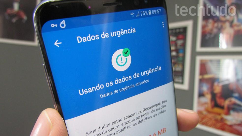 Veja como criar uma reserva de internet no Android com o Google Datally (Foto: Paulo Alves/TechTudo)
