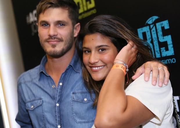 Philippe Correia e Giulia Costa (Foto: AgNews / Anderson Borde)