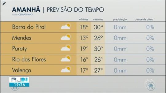 Previsão do tempo: temperaturas ficam amenas na terça-feira no Sul do Rio
