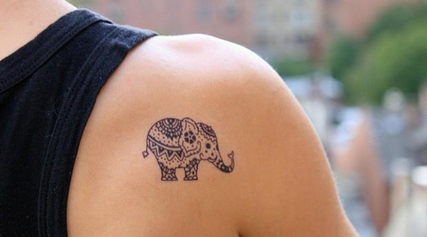 Tatuagem da Momentary Ink  (Foto: Divulgação)
