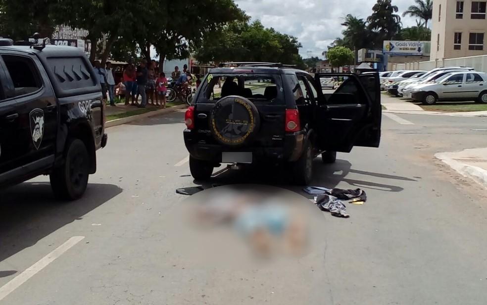 Fuga de preso acaba em troca de tiros com agentes, um morto e um ferido (Foto: Polícia Civil/Divulgação)