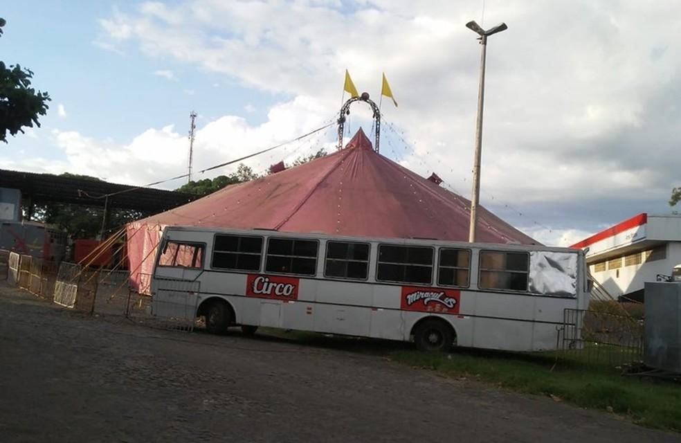 Homem finge ser policial para pedir 30 cortesias de circo no Ceará  — Foto: Francisco José/Arquivo Pessoal