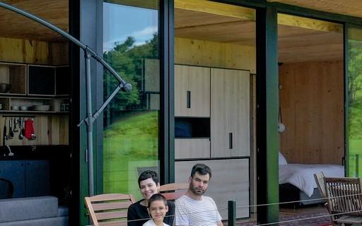 Casa sustentável para aluguel de temporada é opção para isolamento na natureza