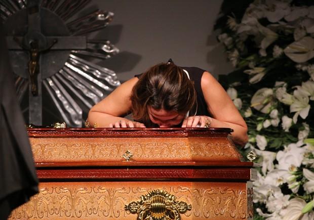 Paula, uma das filhas de Ricardo Boechat (Foto: Deividi Correa/AgNews)