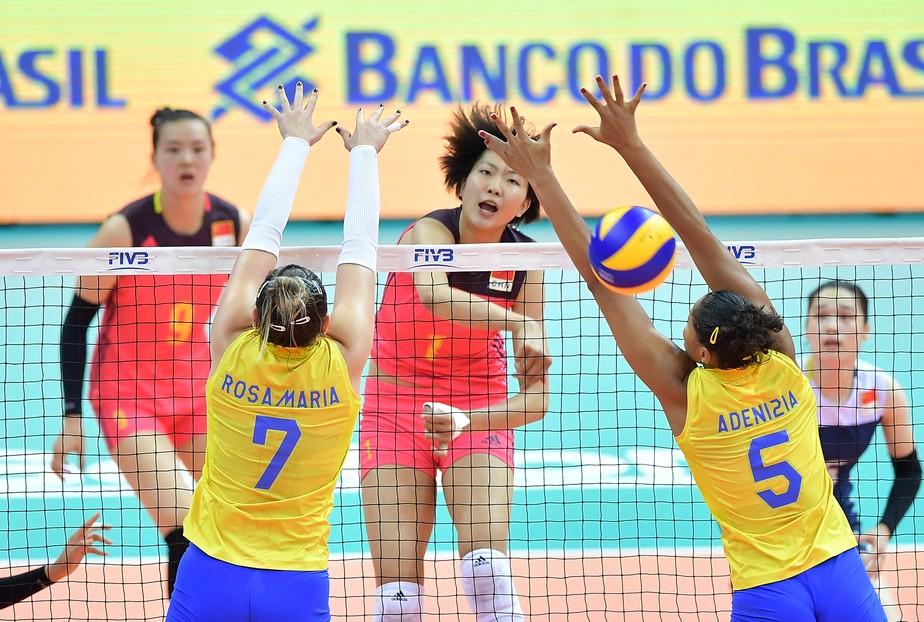 Brasil sofre contra donas da casa e perde para China um ano após queda no Rio