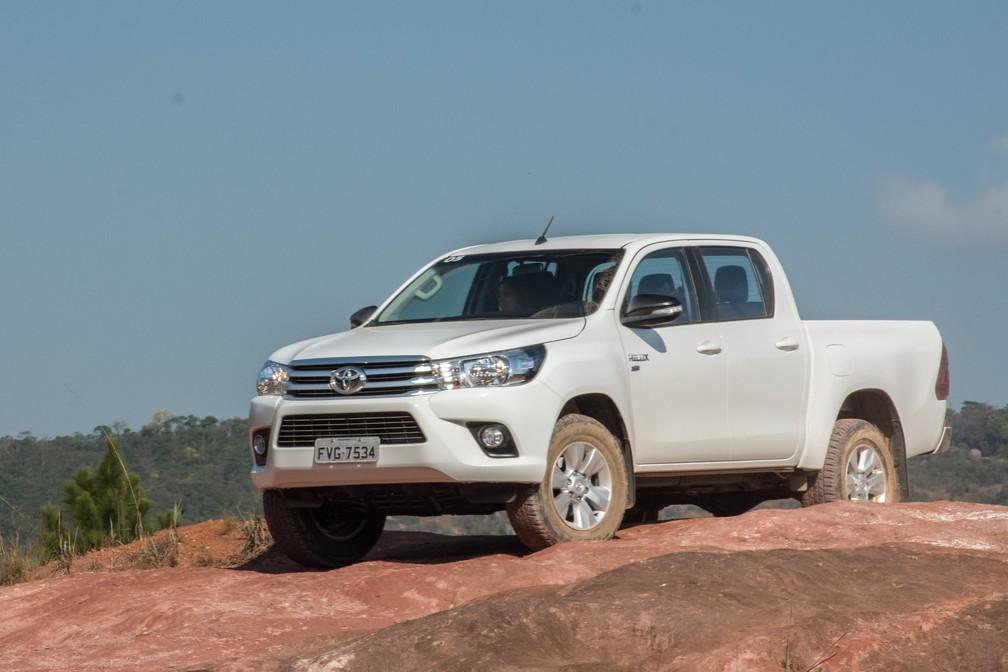 Toyota Hilux flex (Foto: Divulgação)