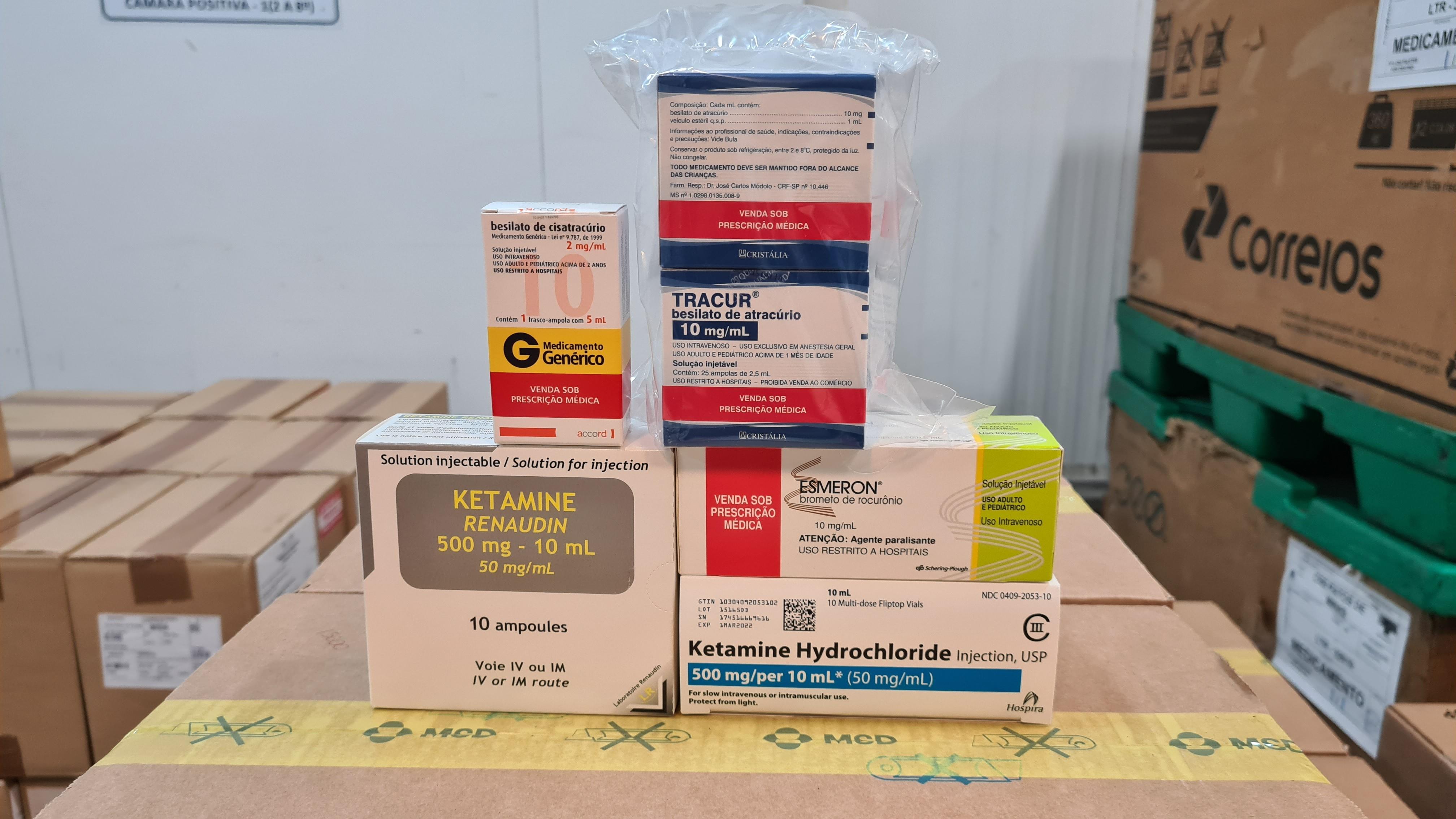 Covid-19: hospitais da Zona da Mata e Vertentes recebem nova remessa de remédios do 'kit intubação'