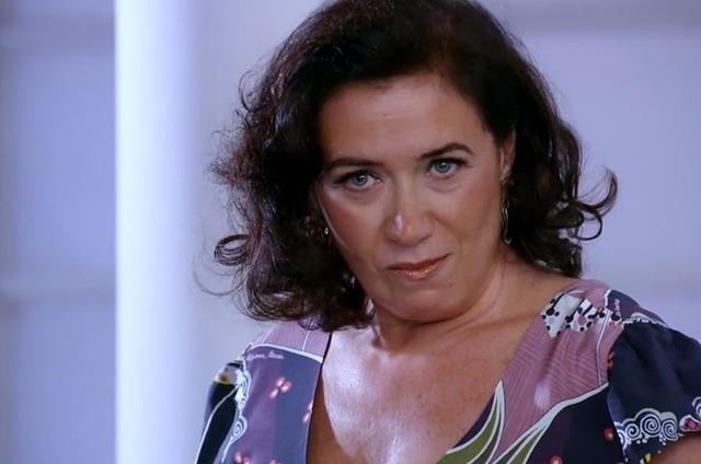 Lilia Cabral é Griselda em 'Fina estampa' (Foto: Reprodução)