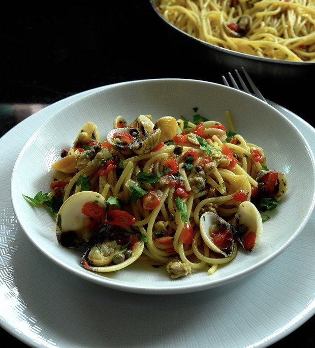 Spaghetti alle vongole (Foto: André Lima de Luca)
