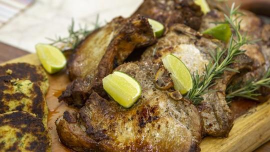 Sformato de Batatas com Bistecas de Porco do Chef Ravioli