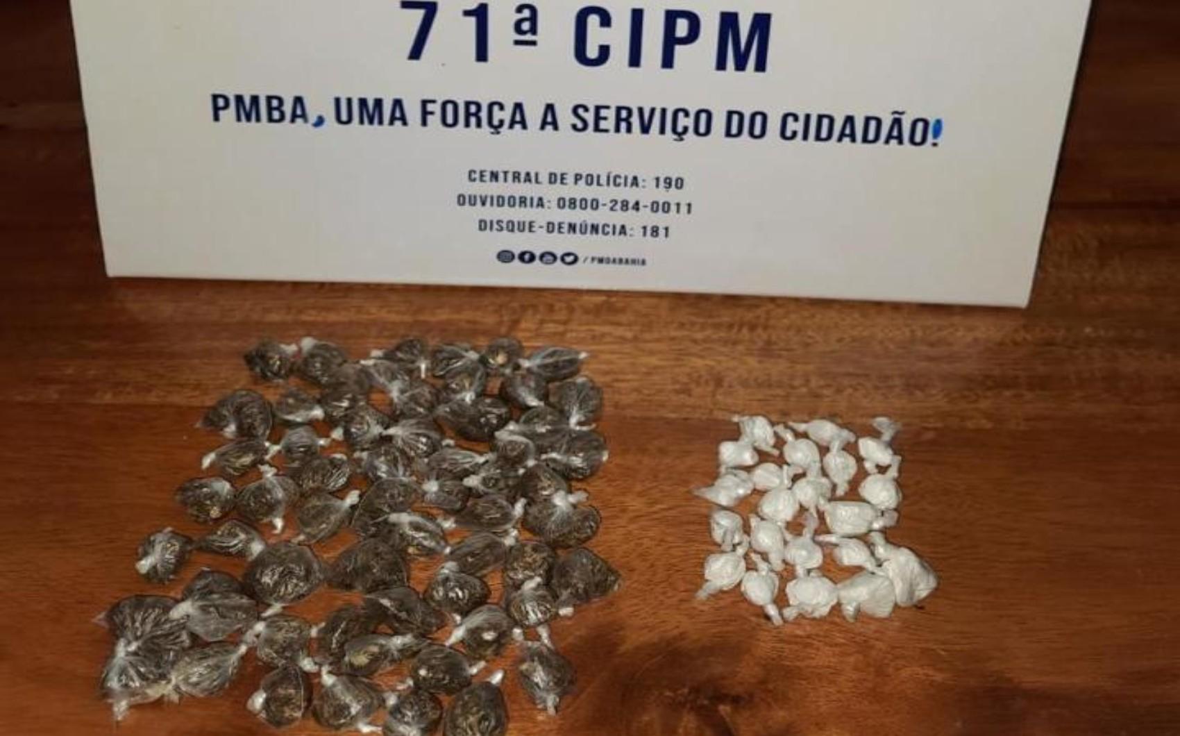 Operação policial encontra acampamento usado como 'refúgio' de traficantes no sul da Bahia; drogas foram apreendidas
