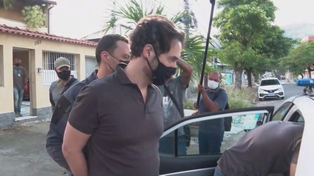 Doutor Jairinho é preso no caso do assassinato do menino Henry — Foto: Reprodução