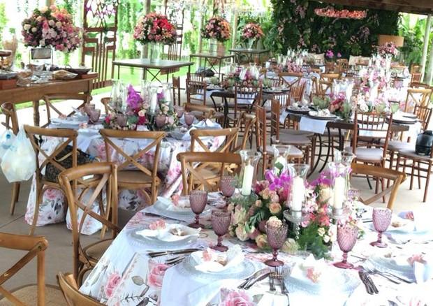 As mesas (Foto: Reprodução/Instagram)