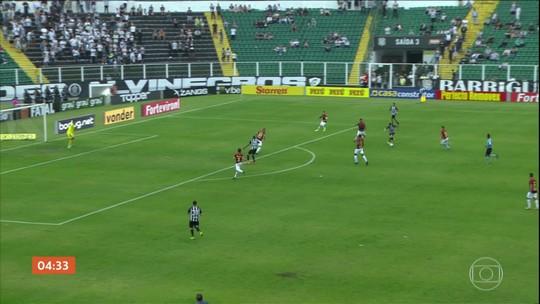 Sport vence o Figueirense por 2 a 1 pela Série B do Brasileirão