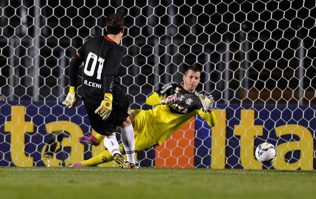 Rogério Ceni e Paulo Victor Flamengo x São Paulo (Foto: Mauro Horita / Ag. Estado)