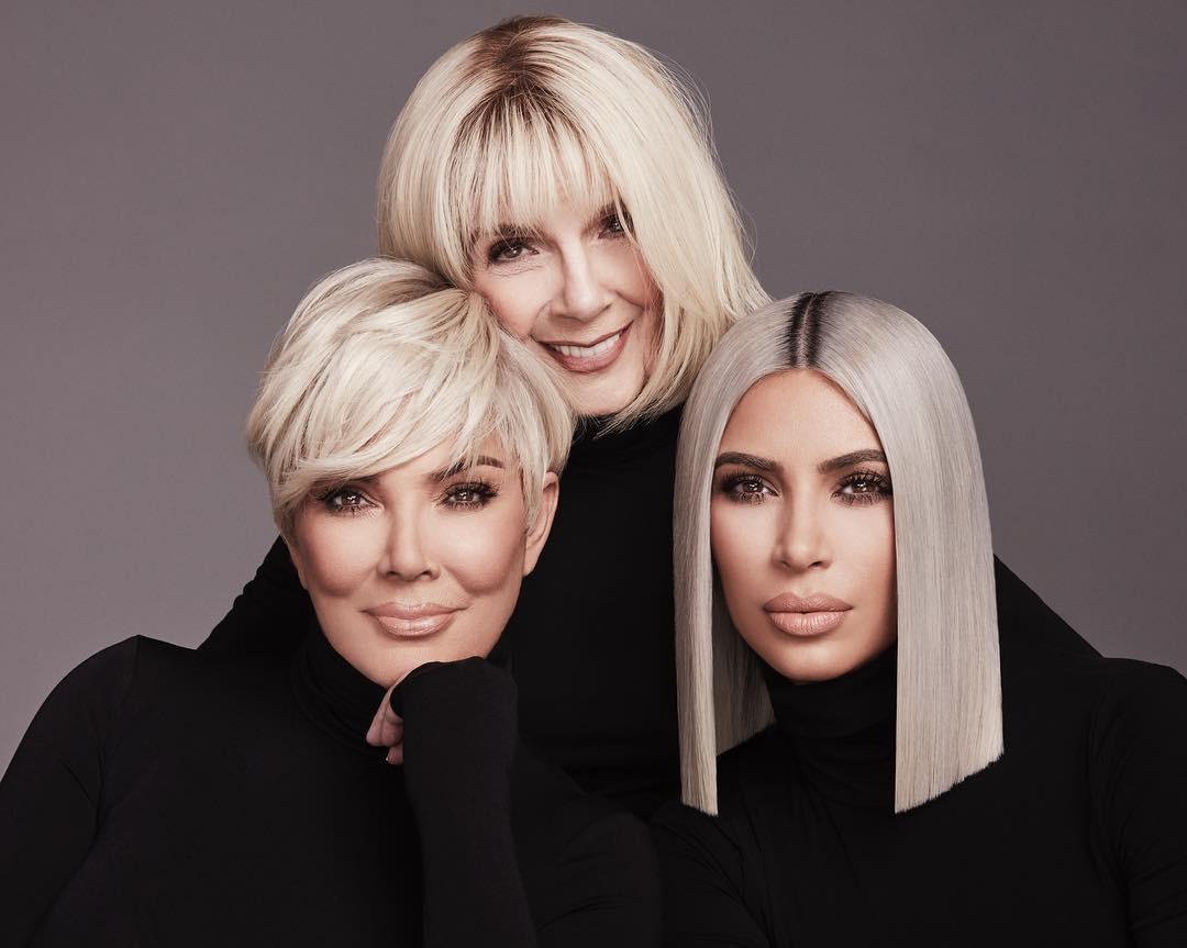 MJ, Kris e Kim Kardashian juntas em novo clique (Foto: Reprodução/Instagram)