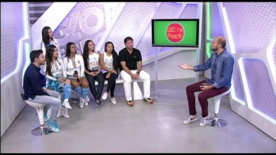 GE na Rede recebe Bicolindas e Leoas Azulinas, além de Cametá, ex-jogador da dupla Re-Pa. Assista:
