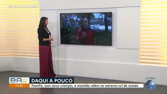 Dez pessoas da mesma família são sequestradas em casa de praia no extremo sul da Bahia