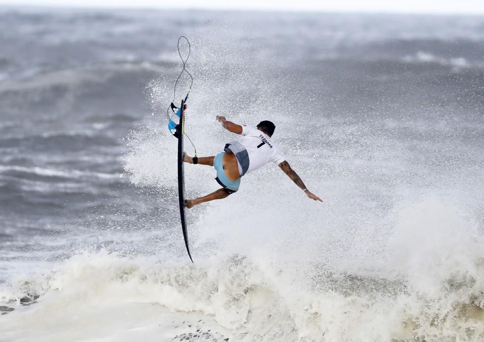 Italo Ferreira é ouro no surfe nas Olimpíadas de Tóquio — Foto: André Durão