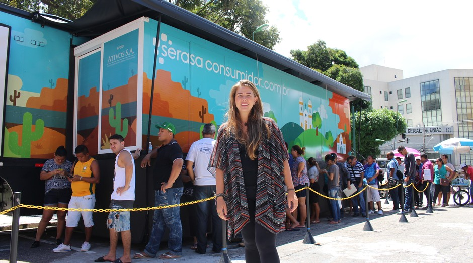 Débora Bucco, selecionada na primeira edição (Foto: Divulgação)