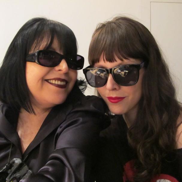 Regina Guerreiro e Jana Rosa (Foto: Arquivo Pessoal)