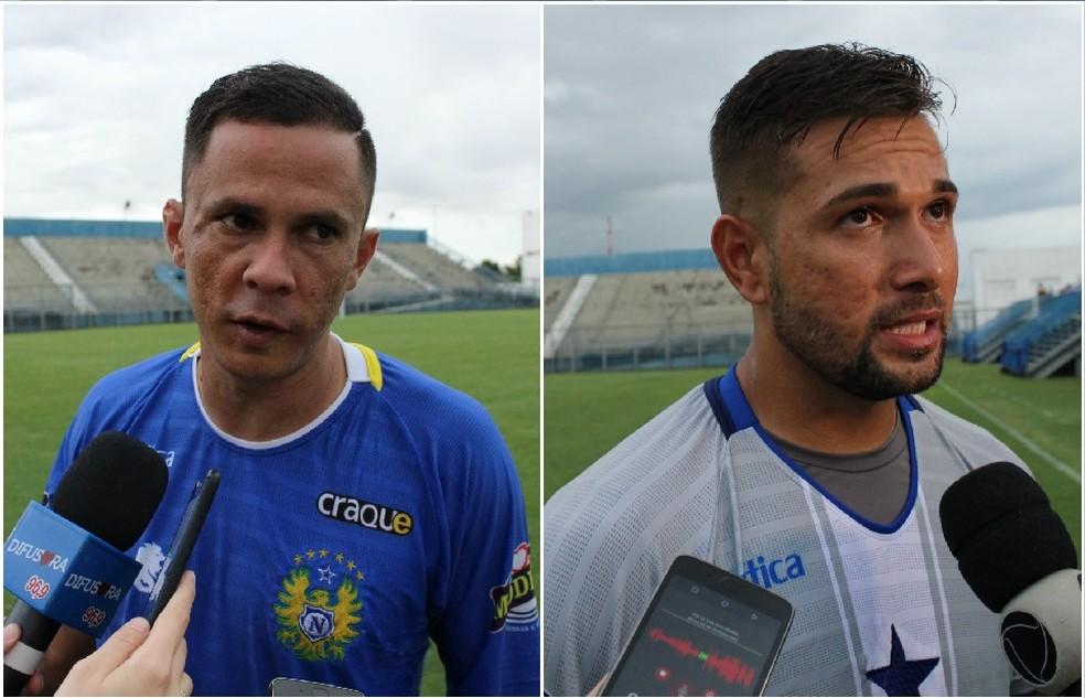 Fininho e Marcelo Valverde (Foto: Marcos Dantas)